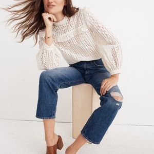 Classic straight jeans by Madewell